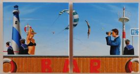 George Henry Smyth (b.1968), Outdoor Pursuits I and II at Morgan O'Driscoll Art Auctions