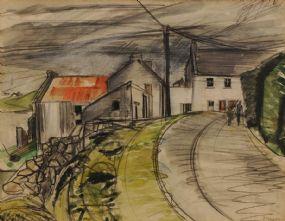 Barbara Warren RHA (b.1925), Lettermullen at Morgan O'Driscoll Art Auctions