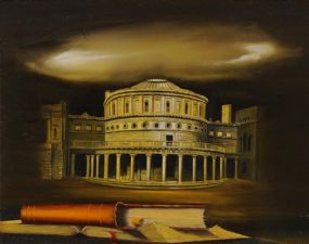 Simon O'Donnell (b.1945), The National Library of Ireland at Morgan O'Driscoll Art Auctions