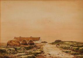 Frank Egginton RCA (1908-1990), Sunset Co. Mayo at Morgan O'Driscoll Art Auctions