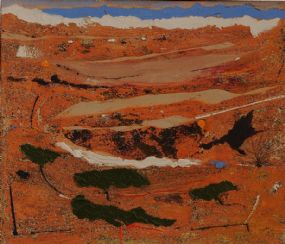 Mike Fitzharris (b.1952), Arid Land at Morgan O'Driscoll Art Auctions