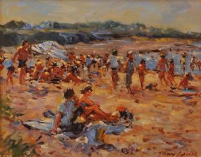 Tony Lynch (20th/21st Century), Malahide Beach at Morgan O'Driscoll Art Auctions