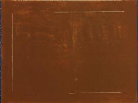 William Scott OBE RA (1913-1989), Brown Field Defined at Morgan O'Driscoll Art Auctions