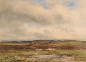 Wycliffe Egginton RI RCA (1875-1951), Landscape with Sheep at Morgan O'Driscoll Art Auctions