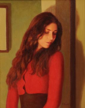 James Cahill (20th/21st Century), Portrait of a Girl at Morgan O'Driscoll Art Auctions