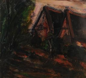 Peter Collis RHA (1929-2012), Wicklow Cottage at Morgan O'Driscoll Art Auctions