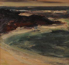 Peter collis rha 1929 2012 seascape at morgan odriscoll art