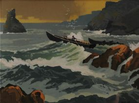 John Francis Skelton (20th/21st Century), Inishark Co. Galway at Morgan O'Driscoll Art Auctions