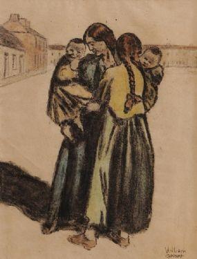 William Conor RHA RUA ROI (1881-1968), Adoration at Morgan O'Driscoll Art Auctions
