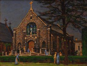 Aloysius O'Kelly RHA (1850-1929), Church of the Good Samaritans at Morgan O'Driscoll Art Auctions