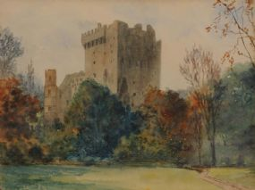 Douglas Alexander RHA (1871-1945), Blarney Castle at Morgan O'Driscoll Art Auctions