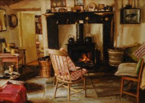 Mark O'Neill (b.1963), A Home in Donegal at Morgan O'Driscoll Art Auctions