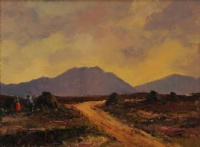 Norman J. McCaig (1929-2001), Connemara Peat Bog at Morgan O'Driscoll Art Auctions