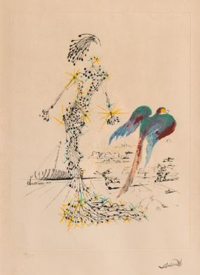 Salvador Dali (1904-1989) Spanish, Bird at Morgan O'Driscoll Art Auctions