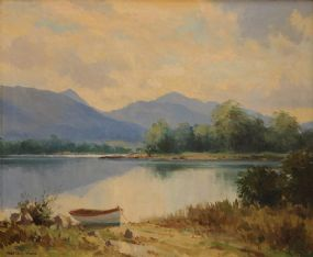 Maurice Canning Wilks ARHA RUA (1911-1984), Lough Leane near Killarney at Morgan O'Driscoll Art Auctions