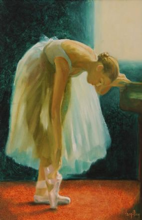 Ken Hamilton (b.1956), Ballerina at Morgan O'Driscoll Art Auctions