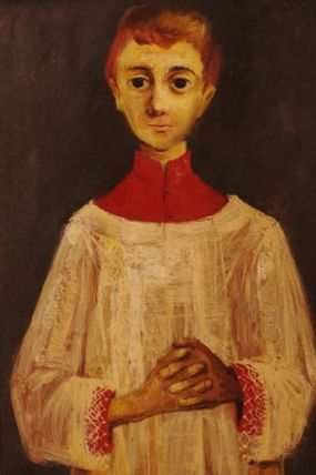 Daniel O'Neill (1920-1974), Choir Boy at Morgan O'Driscoll Art Auctions