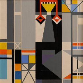 Colin Middleton RUA RHA (1910-1983), Mural IV at Morgan O'Driscoll Art Auctions