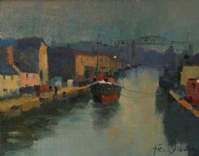 Liam Treacy RHA (1934-2005), Evening Study Drogheda at Morgan O'Driscoll Art Auctions