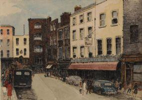 Flora Mitchell (1890-1973), Duke Street, Dublin at Morgan O'Driscoll Art Auctions