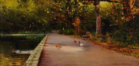 Edward Freeney (20th/21st Century), Bushy Park at Morgan O'Driscoll Art Auctions