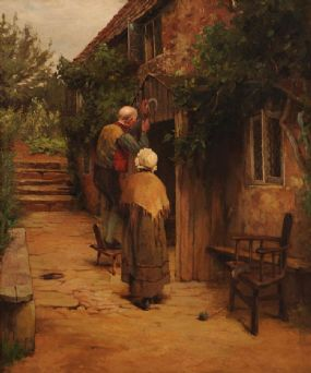 Howard Helmick (1845-1907), Against Witches at Morgan O'Driscoll Art Auctions