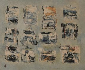 John Kingerlee (b.1936), Kilcatherine Grid, 2007 at Morgan O'Driscoll Art Auctions