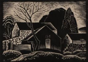 John Luke RUA (1906-1975), The Farmstead at Morgan O'Driscoll Art Auctions