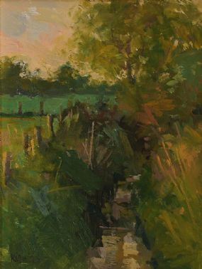 Paul Kelly (20th Century) British, Stream in Skerries at Morgan O'Driscoll Art Auctions