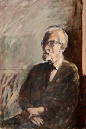 Brian Ballard RUA (b.1943), Portrait of John Hewitt at Morgan O'Driscoll Art Auctions