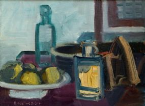 Brian Ballard RUA (b.1943), Still Life with Iron at Morgan O'Driscoll Art Auctions