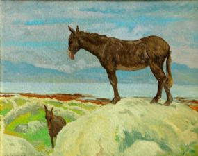 Patrick Leonard HRHA (1918-2005), Contentment, Connemara at Morgan O'Driscoll Art Auctions