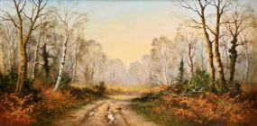 Wendy Reeves (b.1945), Autumn Mist at Morgan O'Driscoll Art Auctions