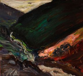 Peter Collis RHA (1929-2012), Fast Running Stream, Glendalough, Co. Wicklow at Morgan O'Driscoll Art Auctions