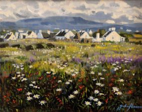 John Kirwan (b.1956), Achill, Co. Mayo at Morgan O'Driscoll Art Auctions