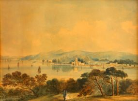 John E Bosanquet (act.c.1854-c.1869), View of Blackrock Castle, Cork at Morgan O'Driscoll Art Auctions