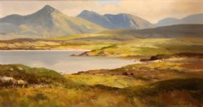 Maurice Canning Wilks ARHA RUA (1911-1984), Landscape at Ross, Connemara, Co Galway at Morgan O'Driscoll Art Auctions