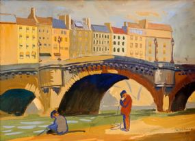 Sean O'Sullivan RHA (1906-1964), Paris 1939 at Morgan O'Driscoll Art Auctions