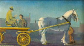 John Jobson (b.1941), First Day at the Market at Morgan O'Driscoll Art Auctions