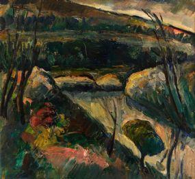 Peter Collis RHA (1929-2012), Slade Brook Resevoir at Morgan O'Driscoll Art Auctions