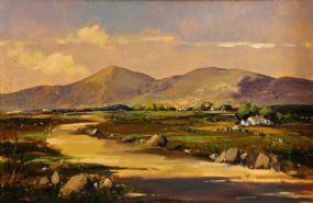 George Gillespie RUA (1924-1996), Connemara Landscape at Morgan O'Driscoll Art Auctions