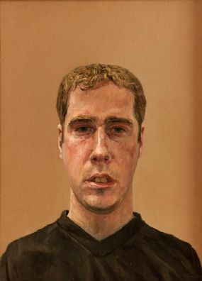 Comhghall Casey (20th/21st Century), Self Potrait at Morgan O'Driscoll Art Auctions