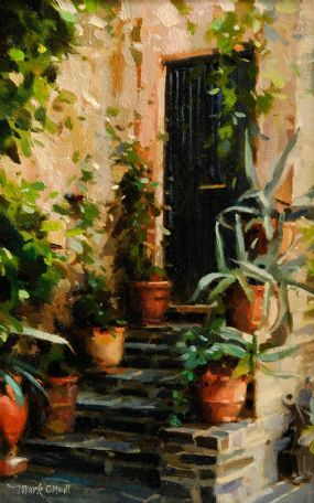Mark O'Neill (b.1963), Old Town Steps at Morgan O'Driscoll Art Auctions