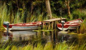 Mark O'Neill (b.1963), Kylemore Green at Morgan O'Driscoll Art Auctions