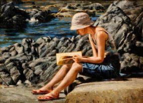 Mark O'Neill (b.1963), A Good Summer Read at Morgan O'Driscoll Art Auctions