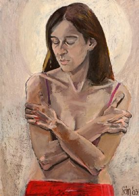 Suzy O'Mullane (b.1958), Contemplation at Morgan O'Driscoll Art Auctions