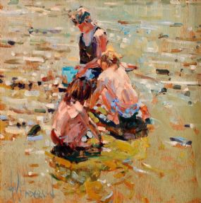 Arthur K. Maderson (b.1942), Study, Clonea Beach, Co. Waterford at Morgan O'Driscoll Art Auctions