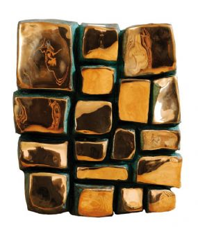 Patrick O'Reilly (b.1957), Brass Blocks at Morgan O'Driscoll Art Auctions