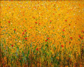 Kenneth Webb RWA FRSA RUA (b.1927), Wild Oats & Poppies at Morgan O'Driscoll Art Auctions