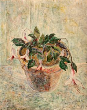 Stella Steyn (1907-1987), Still Life of Roses at Morgan O'Driscoll Art Auctions